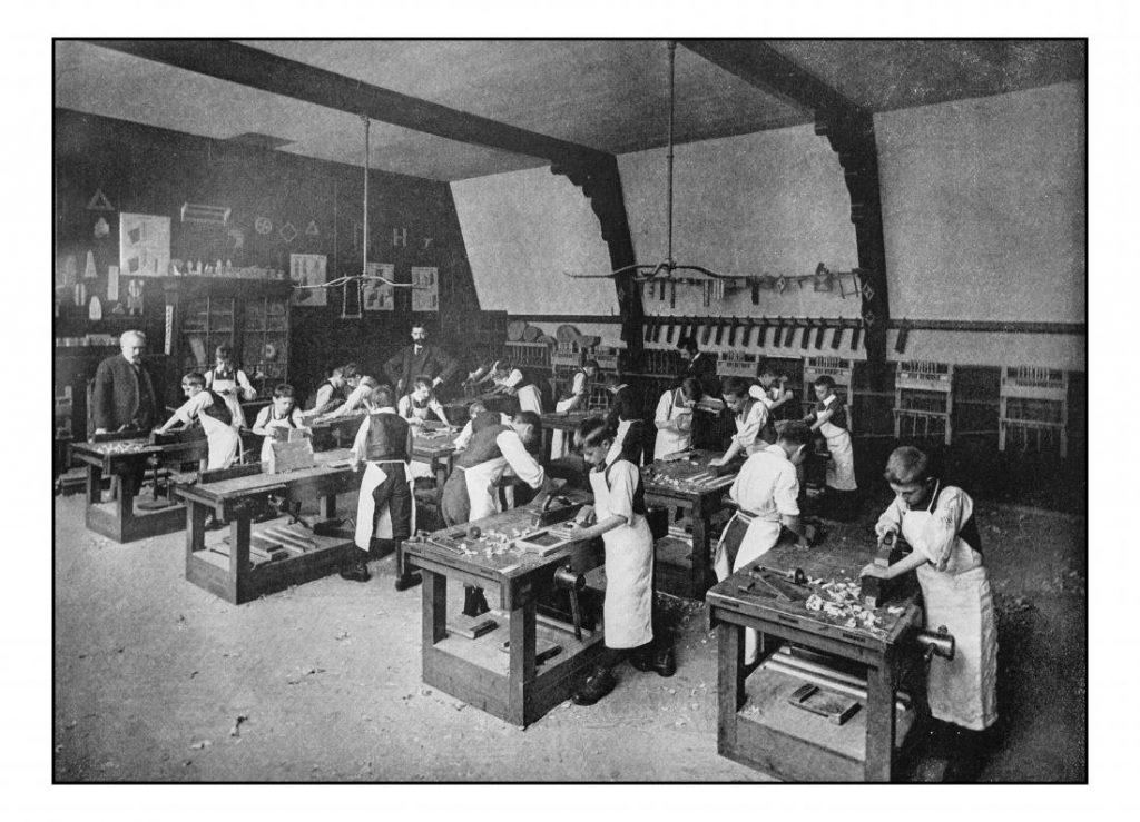 victorian-workers